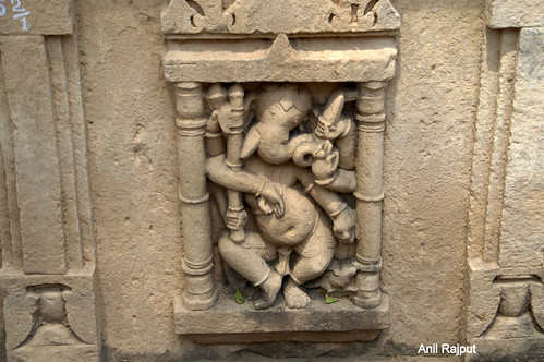 Dancing Lord Ganesha , Bateshwar Group of Temples