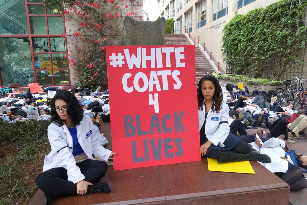White Coats For Black Lives White Coats For Black Lives
