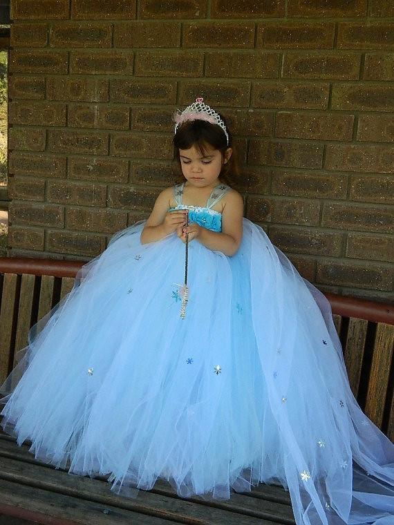 elsa tutu dress frozen inspired tutu dress by funkidsus boutique