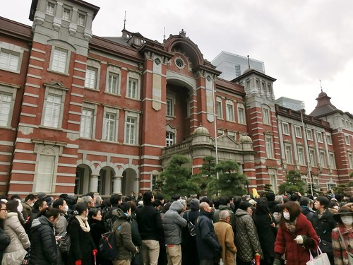 Panic at Tokyo Station 100 Years Anniversary | by tokyo-direct-guide.com