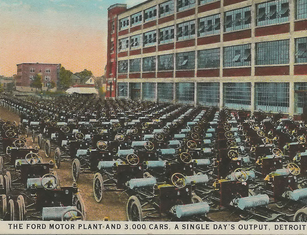 Se Dearborn Detroit Mi 1920s Henry Ford And Ford Motor Com