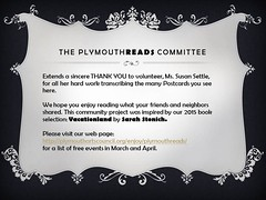 The PlymouthReads Committee