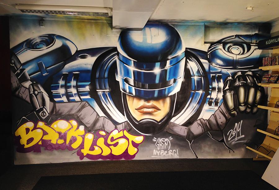 Robocop by Grim Nyberg