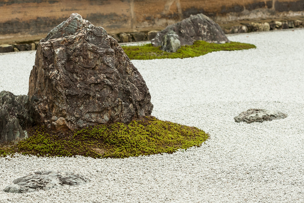 Look for Geodude and Onix at Ryoanji Temple, the site of Japan's most famous rock garden. (Image credit: Shutterstock)