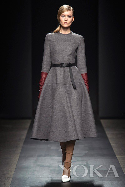 Ports-Ports 1961 fall/winter 2013 seven sleeve swing dress