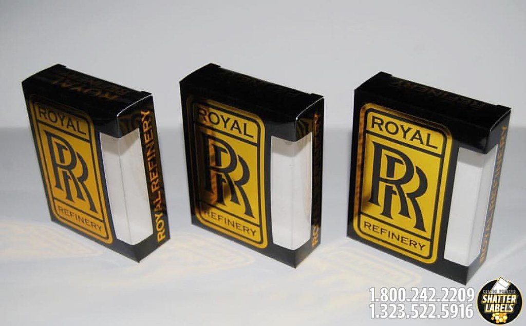 Thank @royal.refinery thank you so much for your Vape Cartridge Box order!  Thank