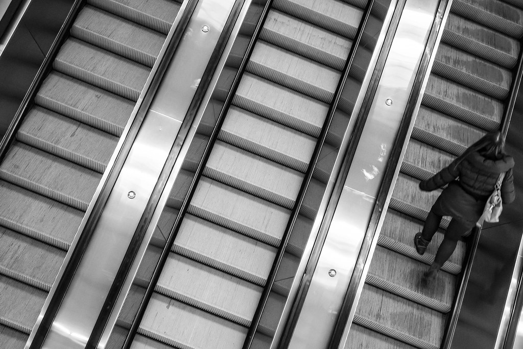 Moving Stairs   By Streetphoto Torrisi Moving Stairs   By Streetphoto  Torrisi