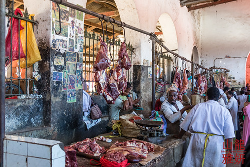 Meat Market at Stonetown Darajani Bazaar | by DragonSpeed