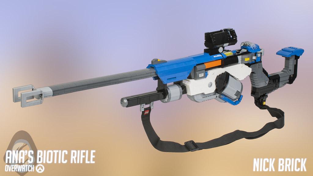 ... Ana's Biotic Rifle - Overwatch | by Nick Brick