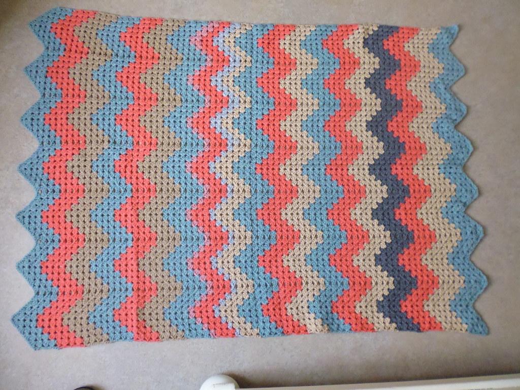 Crochet Granny Ripple Afghan Barton Baker Flickr