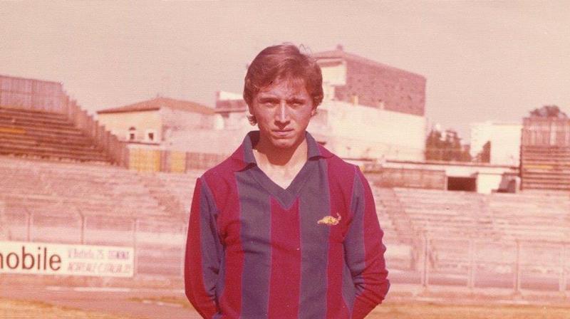 Nino Leonardi, difensore catanese, classe '56 (foto gentilmente concessa dallo stesso Leonardi)