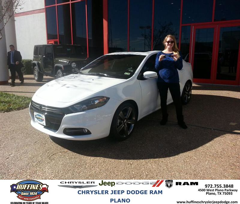 Huffines Dodge Plano >> Congratulations to Jessica Matton on your #Dodge #Dart pur… | Flickr