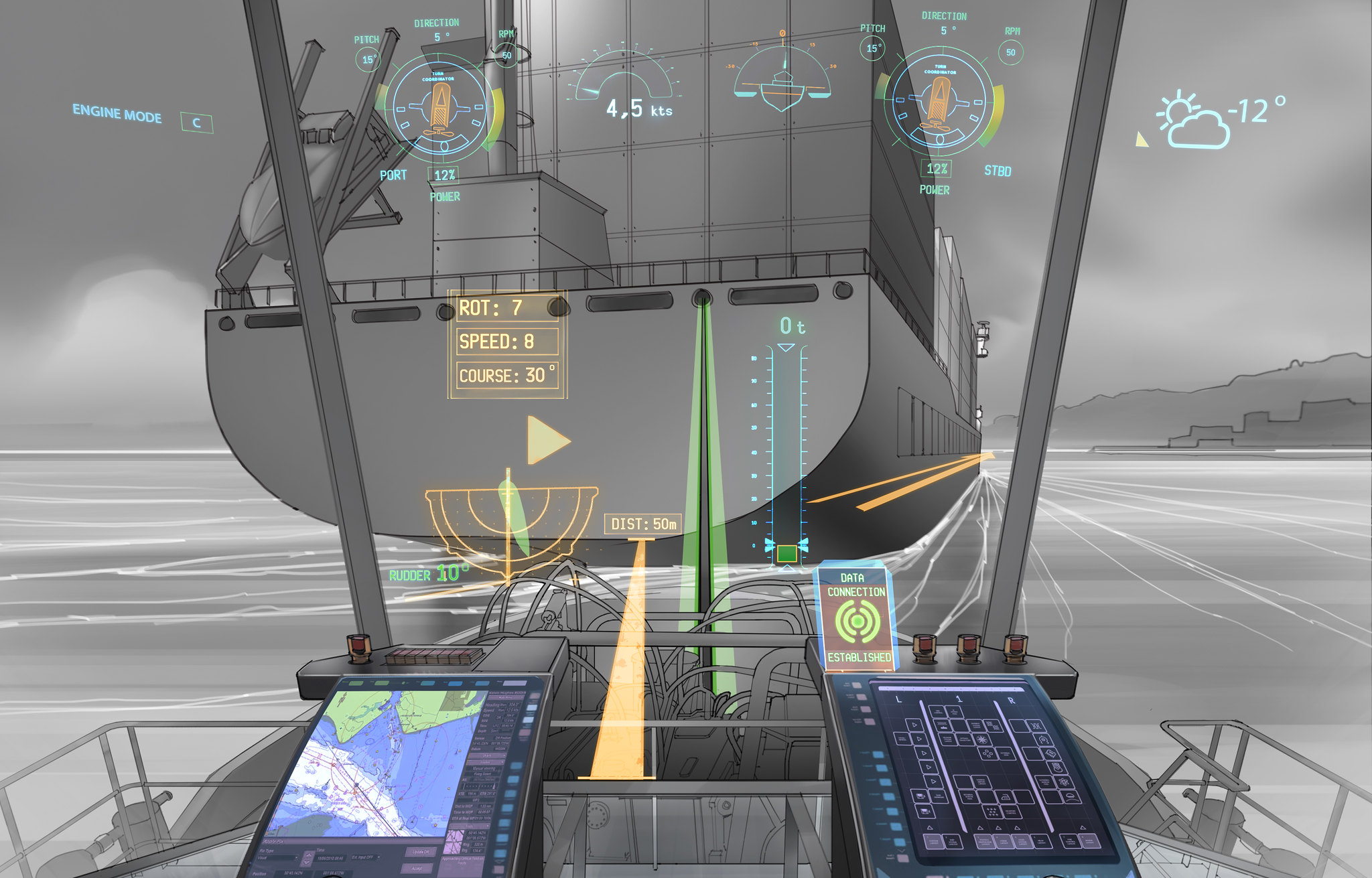 Tiny Home Designs: GeoGarage Blog: Rolls-Royce Sets Sail For Robotic Shipping