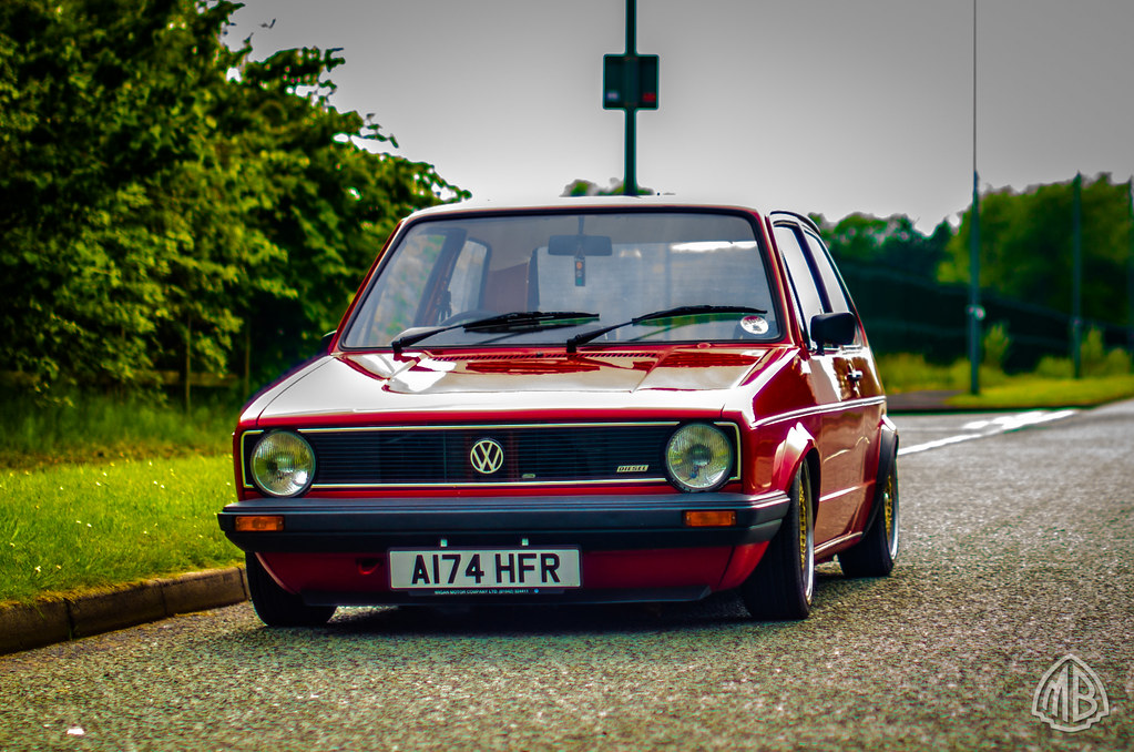 tabasco red mk1 golf diesel mike brown flickr. Black Bedroom Furniture Sets. Home Design Ideas