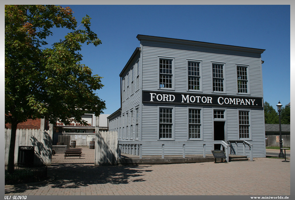 Ford motor company smaller replica of the original ford for Ford motor company jobs dearborn mi