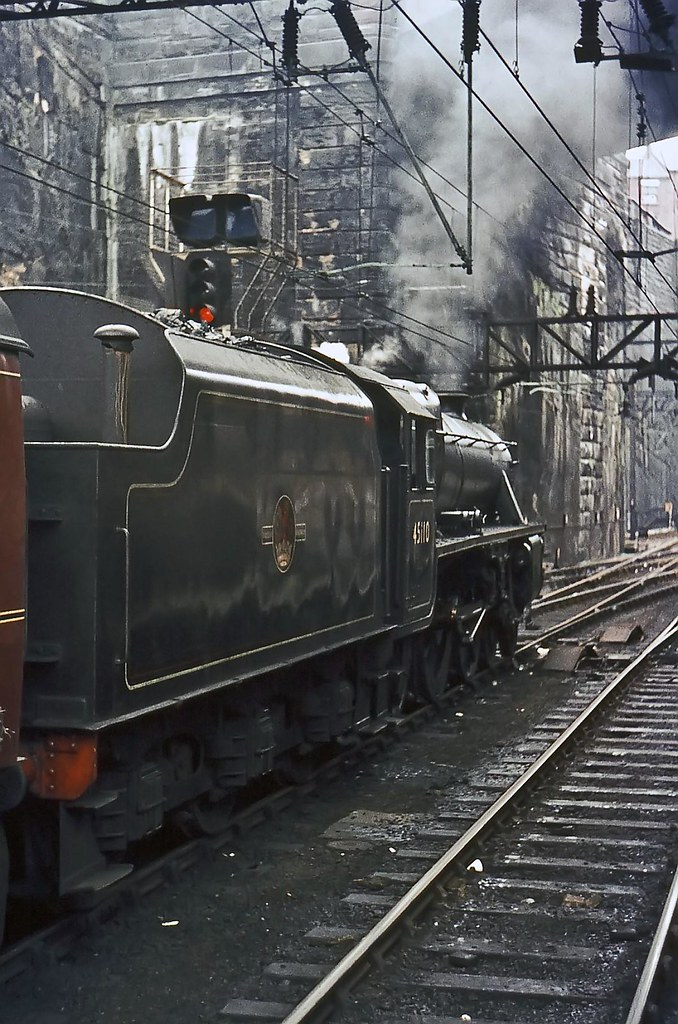 1t57 Liverpool Lime Street August 1968 Lms Stanier