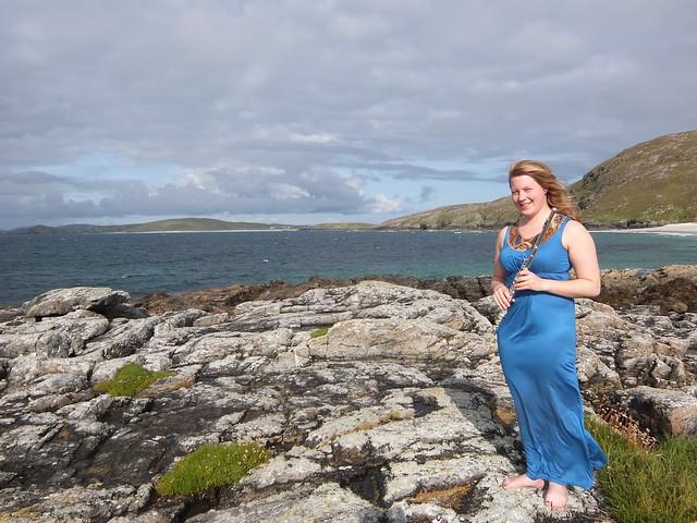 Lily Caunt ont the West Coast, Scotland 1