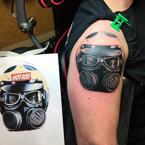 Racing Sleeve Tattoos a Drag Racing Sleeve Today