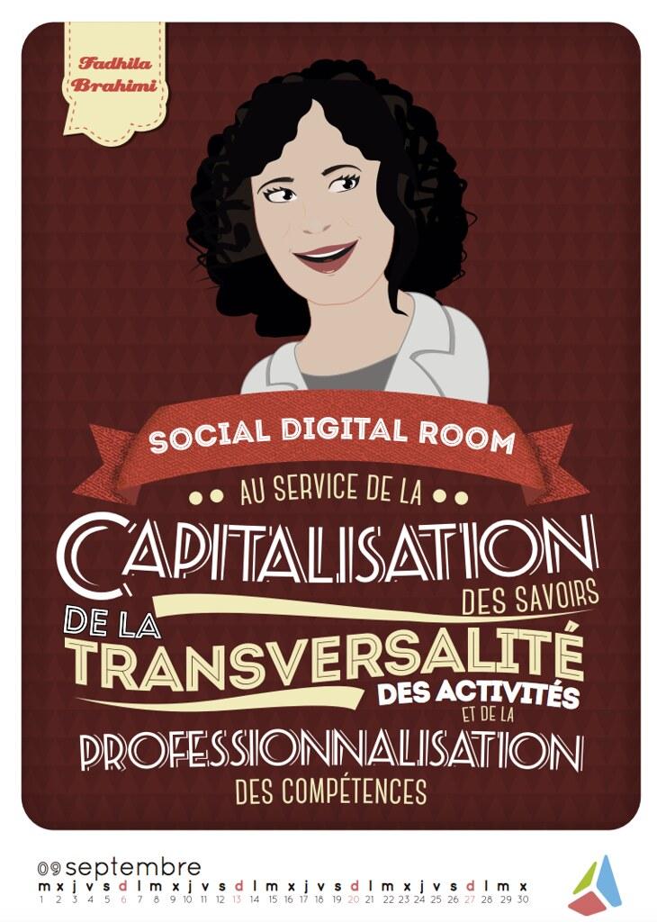 Calendrier Digital.Social Digital Room Fadhila Brahimi Fb Associes Calendrier