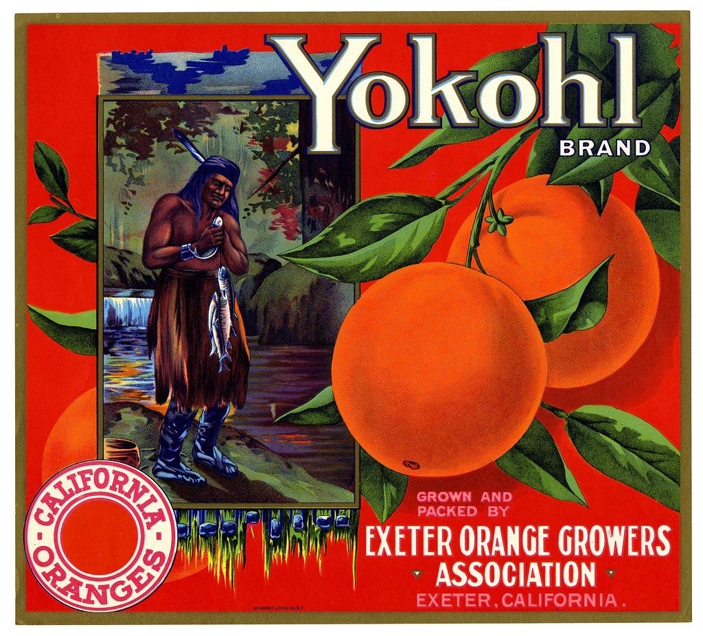 Orange crate label, Yokohl Brand, Schmidt Litho. Co . | by California Historical Society Digital Collection