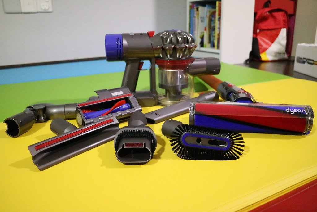 Dyson V8 Fluffy Review by The Loving Mum