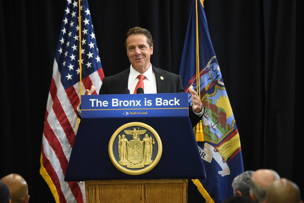 Governor Cuomo Makes an Announcement at Hostos Community College in the Bronx