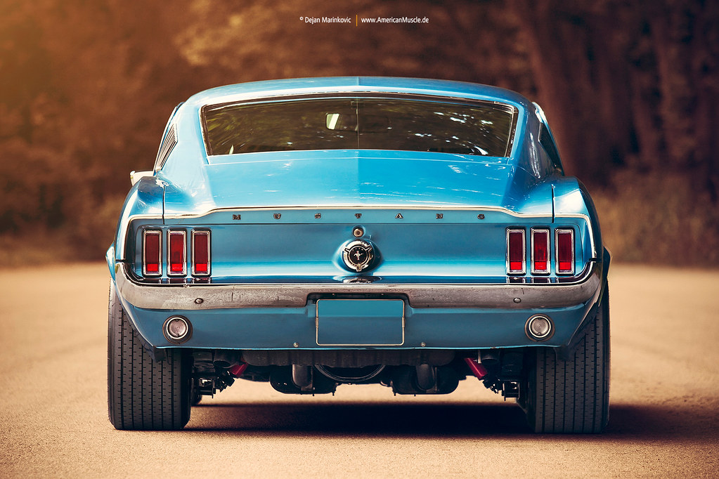 1967 Ford Mustang Fastback Rear | 1967 Ford Mustang Fastback… | Flickr