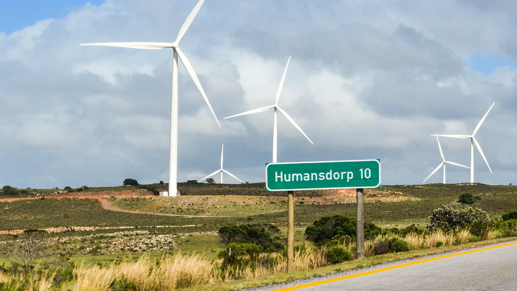 Windmills Of Humansdorp Western Cape South Africa Flickr