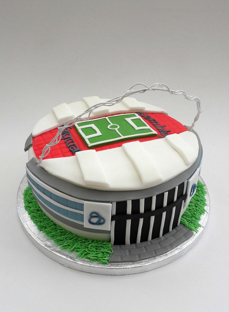 Wembley Stadium Birthday Cake Melissa Rayner Flickr