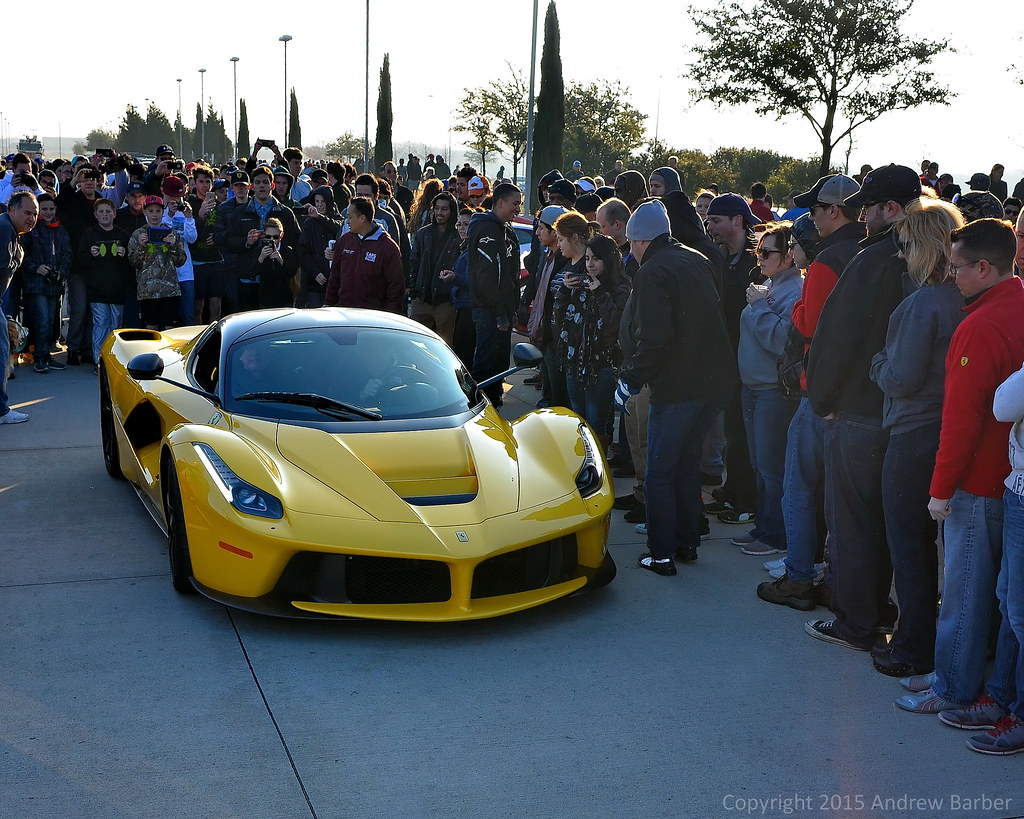 laferrari laferrari at cars and coffee dallas akbarber flickr. Black Bedroom Furniture Sets. Home Design Ideas