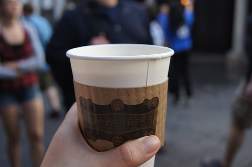 The Wizarding World of Harry Potter - hot butterbeer