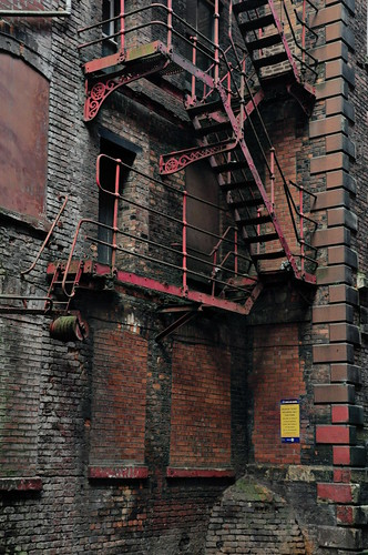 Rusty Fire Escape | by pedrik