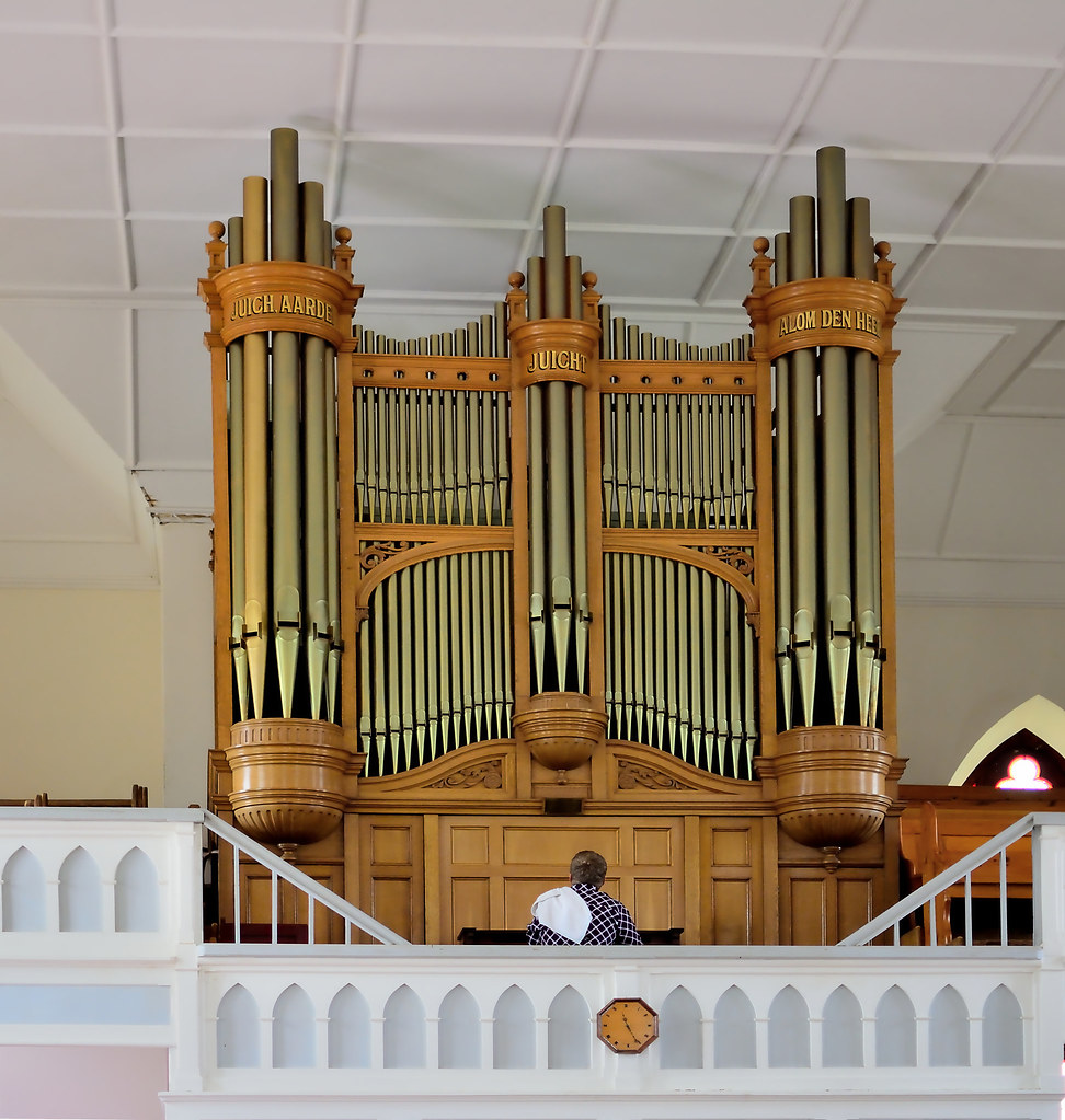 Pipe organ   by PaulE1959 Pipe organ   by PaulE1959 & Pipe organ   Pipe organ in a Dutch Reformed church in a smalu2026   Flickr
