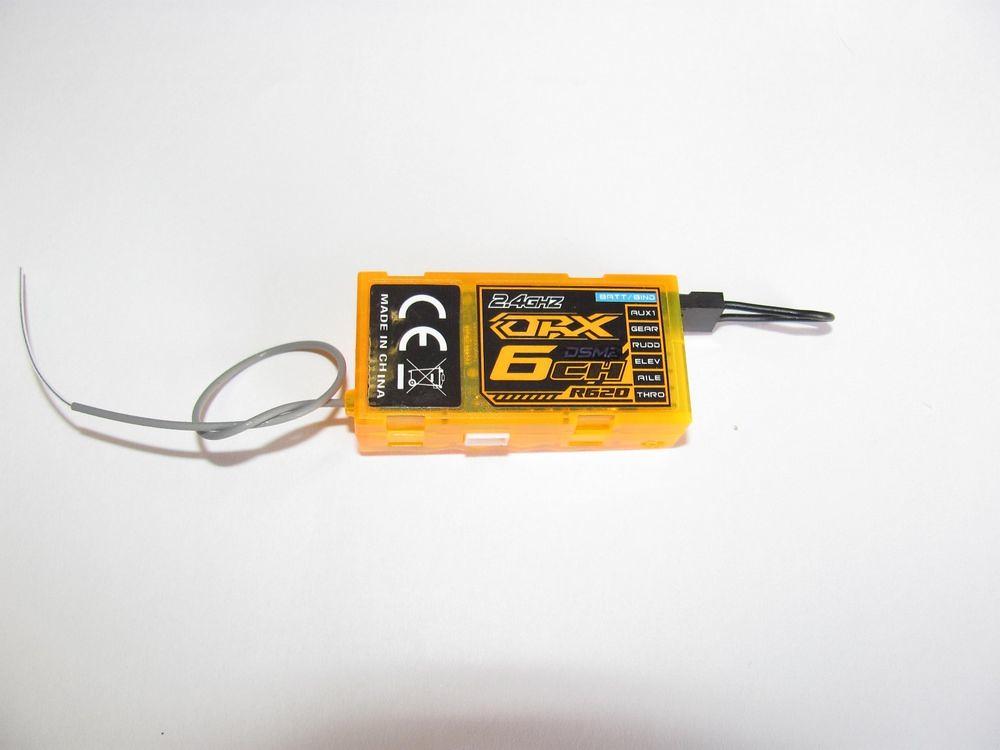 OrangeRx R620 DSM2 Compatible 6Ch 2 4Ghz Receiver Orange R…   Flickr