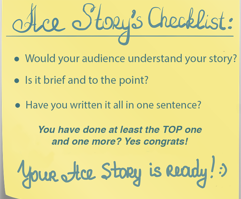 Ace Stories - The Checklist