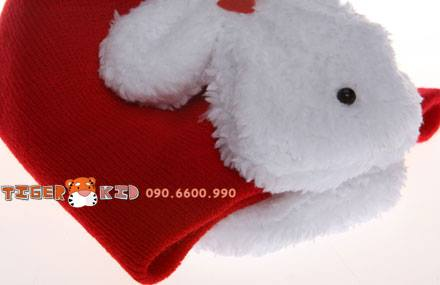 15862614041 c0ef42d38f o MS 128 Nón len tai thỏ cho bé