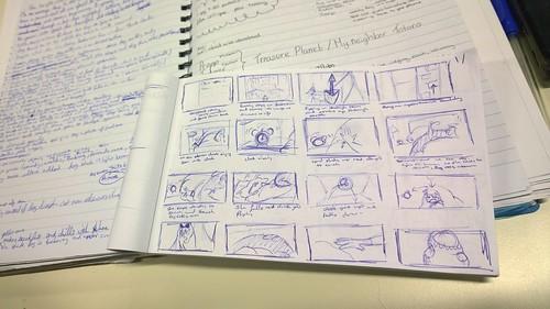 Norah Carmody's Storyboarding