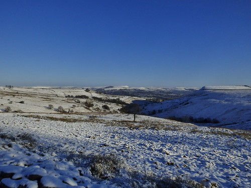 Musbury Valley near Haslingden, Rossendale, Lancashire, England - December 2014