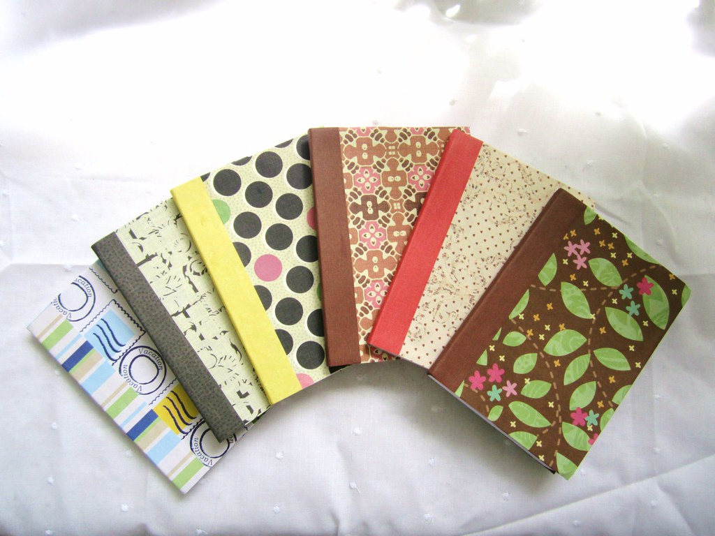 Image result for scrapbook paper covered notebook