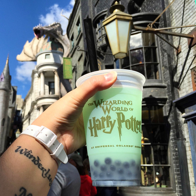 Fishy Green Ale in Diagon Alley