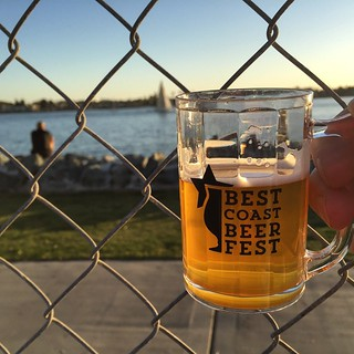 #kvpinmybelly Bottom's Up! Best Coast Beer Fest at #SanDiego Embarcadero South. NOM! #beerfest | by queenkv