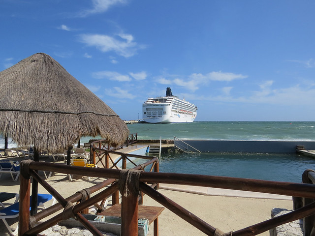 NCL Spirit from Costa Maya