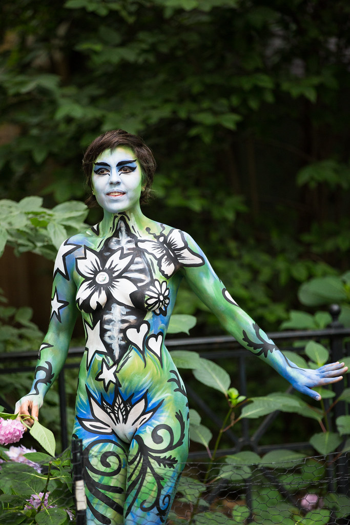 Nyc body painting 39 2016 the 3rd annual new york city for Painting jobs nyc