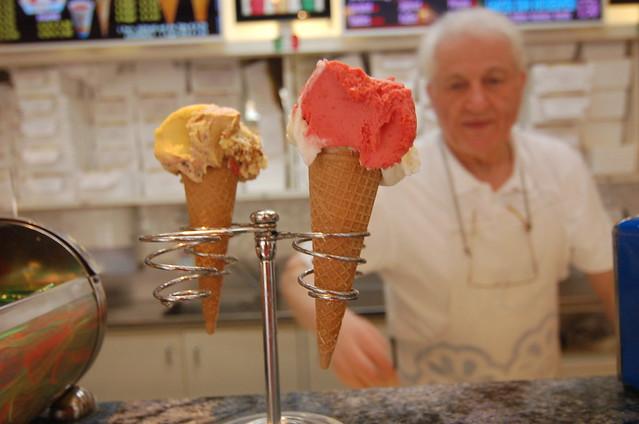 維也納 西站 冰淇淋