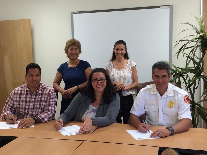 Maui CWPP Signing 7/29/16
