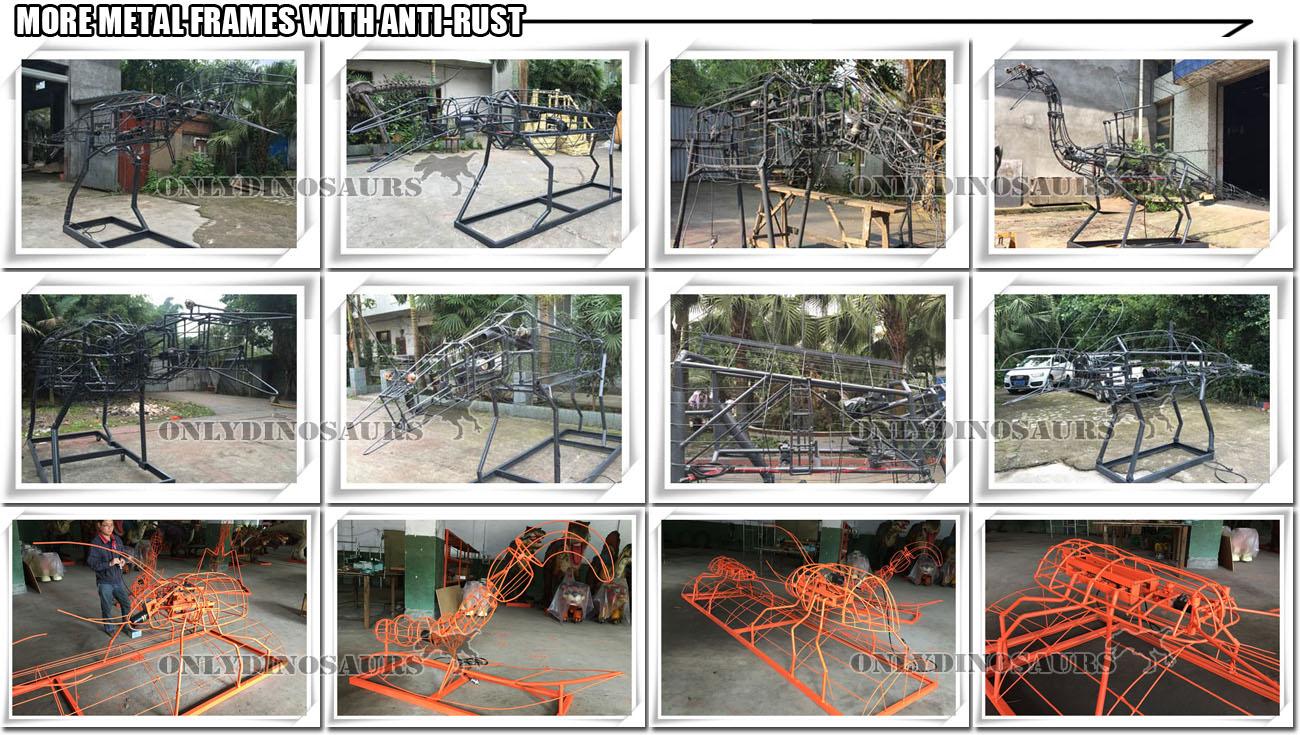 Dinosaur Metal Frame-02