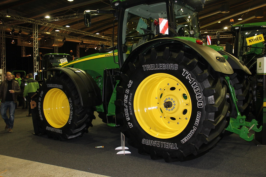 Trelleborg And John Deere At Agromek Exhibition