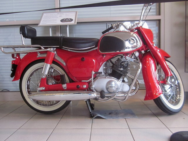 1962 Honda CA95 (Benly) 150 Touring | Antique Auto Club of ...