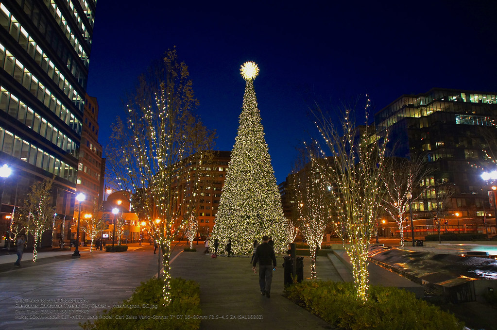 ... Christmas Tree at City Center - Washington, DC | by otavio_dc - Christmas Tree At City Center - Washington, DC This Christ… Flickr
