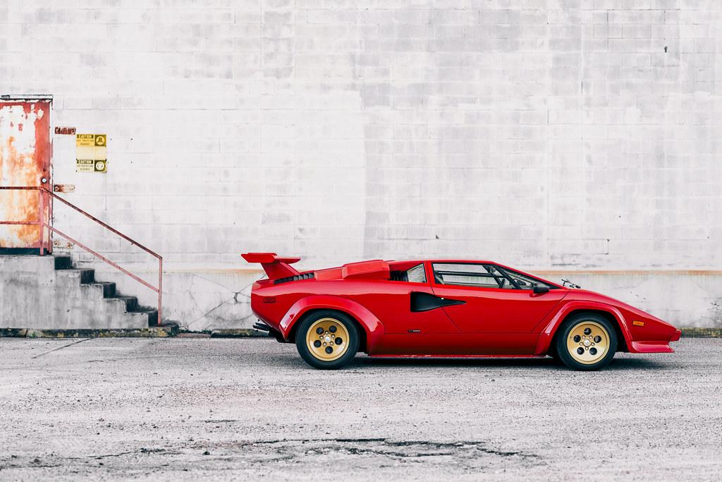 Theo Graphics 1983 Lamborghini Countach Lp500 S 1 Of 23